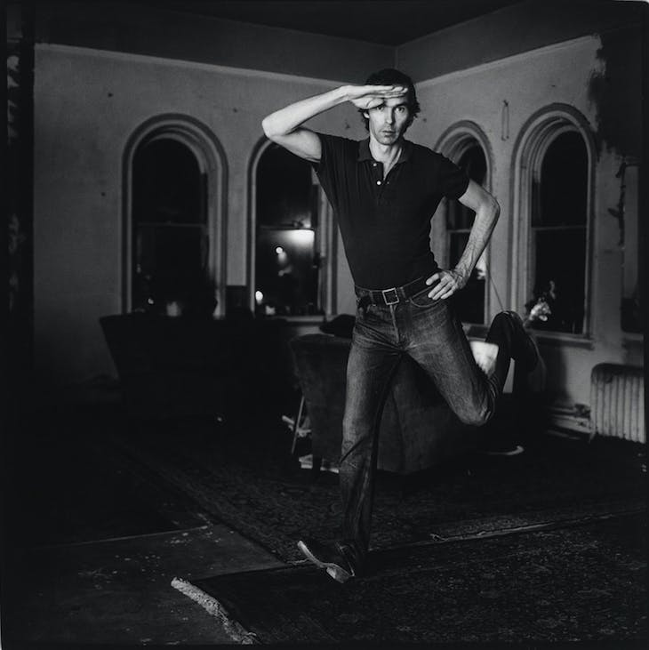 Self-Portrait Jumping (1974), Peter Hujar.