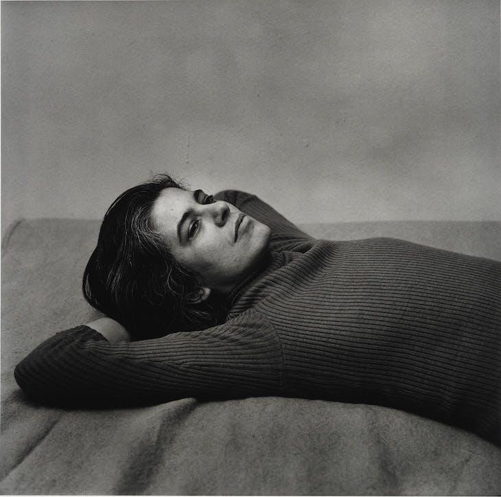 Susan Sontag (1975), Peter Hujar.