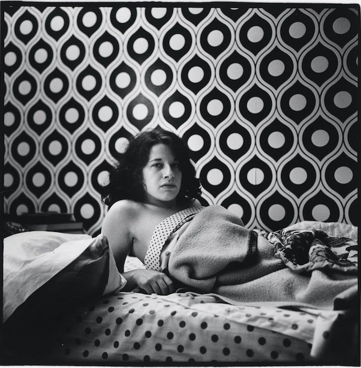 Fran Lebowitz at Home in Morristown, New Jersey; (1974), Peter Hujar.