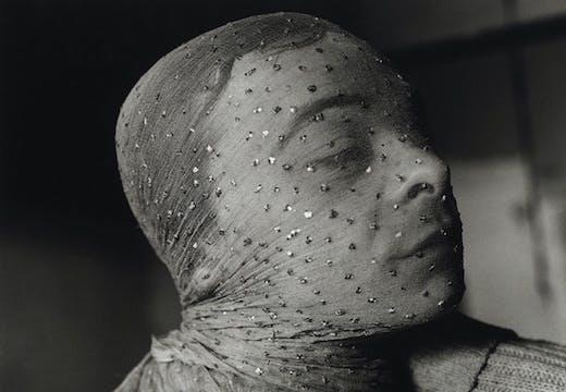 Gary Indiana Veiled (1981), Peter Hujar.