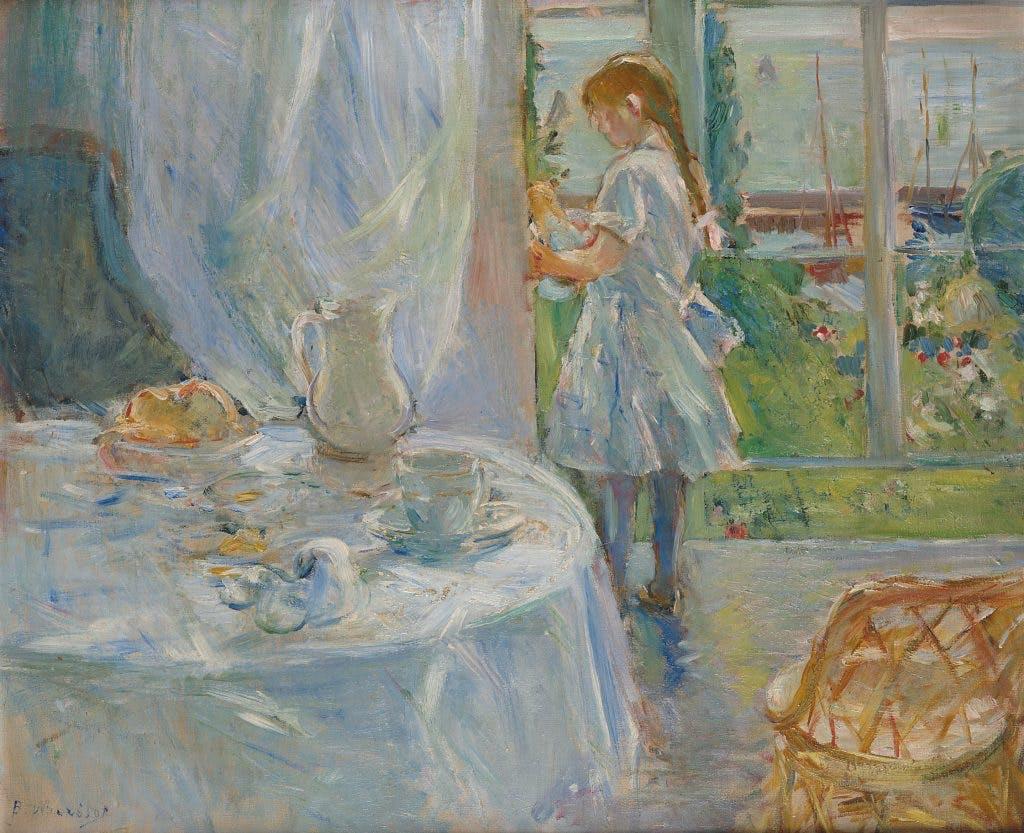 Cottage Interior, 1886, Berthe Morisot, Musée d'Ixelles, Brussels