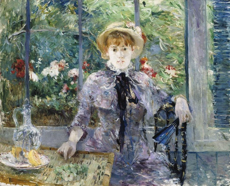 In the Country (After Lunch), 1881, Berthe Morisot, Lawrence Ellison Private Collection