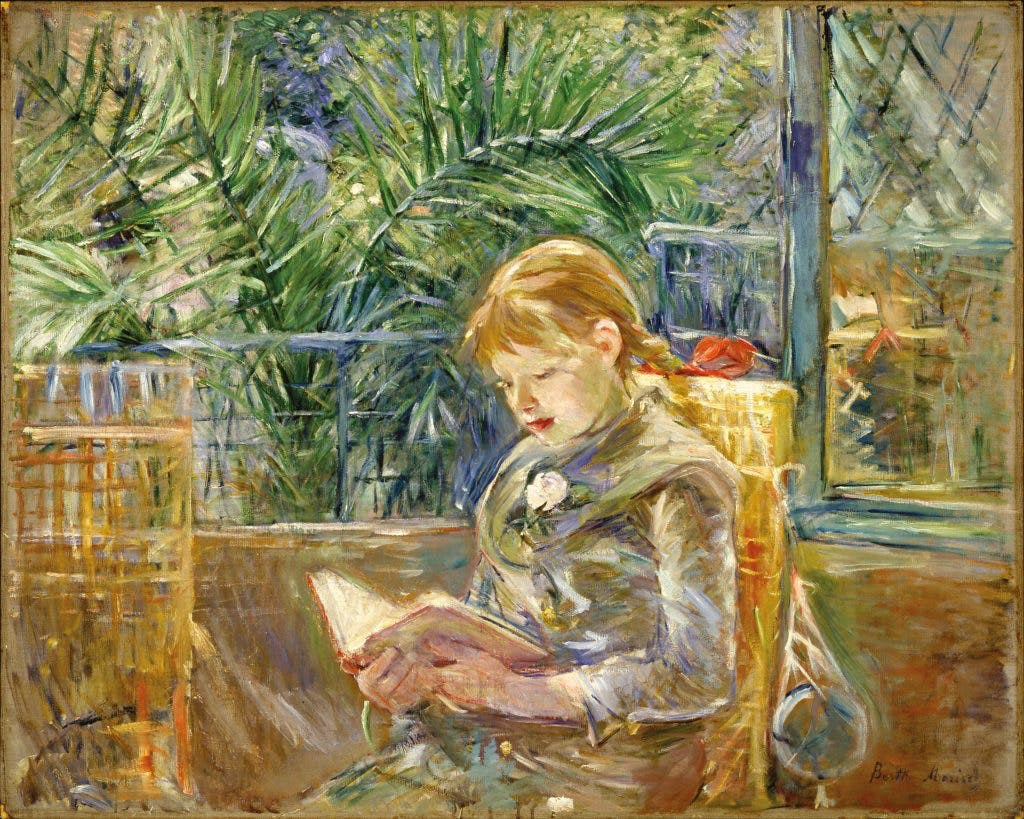 Reading, 1888, Berthe Morisot, Museum of Fine Arts, St Petersburg, Florida