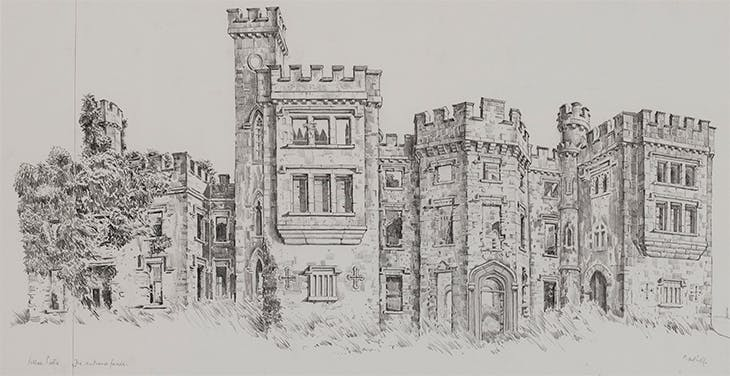 Killua Castle, Co. Westmeath (n.d.), John Nankivell.