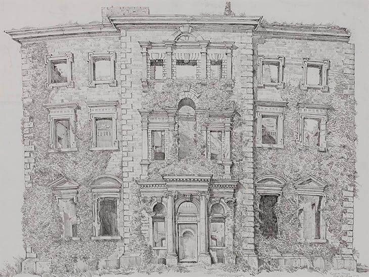 Tyrone House, Co. Galway (n.d.), John Nankivell.