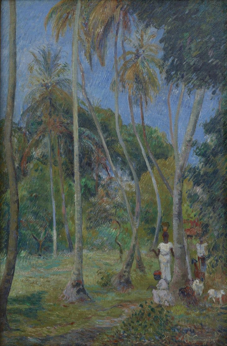 Path under the Palms, Paul Gauguin