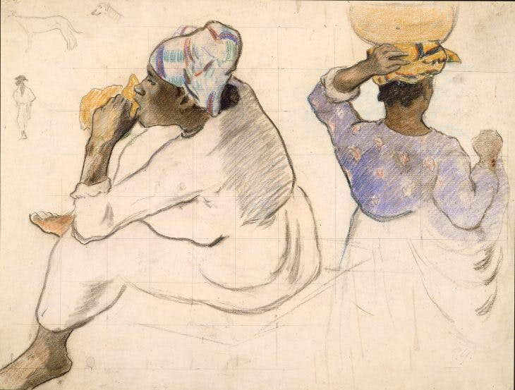 Martinican Women, Paul Gauguin