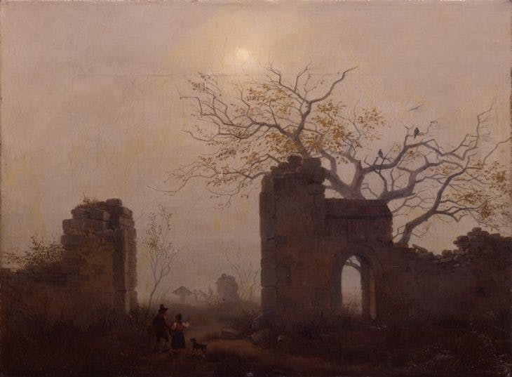Cemetery Entrance, Carl Julius Leypold