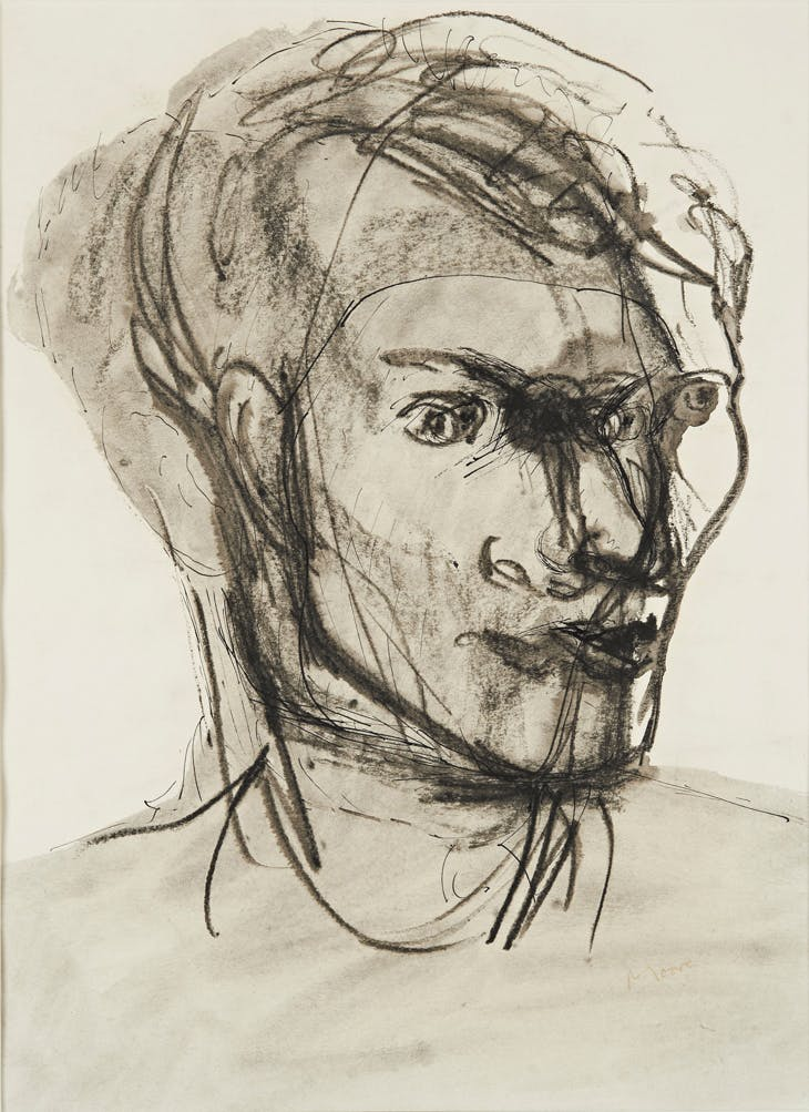 Portrait of Stephen Spender, Henry Moore