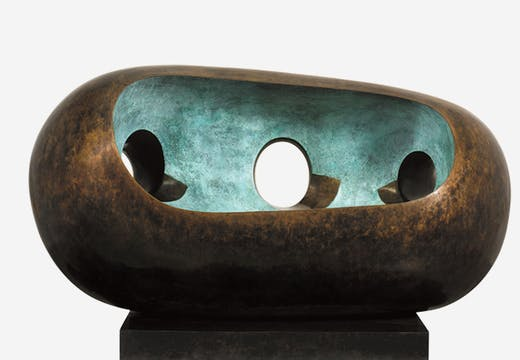 River Form (BH 568), Barbara Hepworth