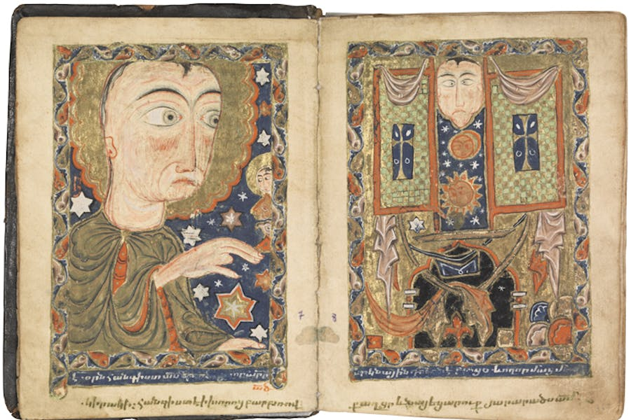 Bible Keghi (1586), copied and illuminated by Hakob of Julfa (Hakob Jughayets'i). Private collection.