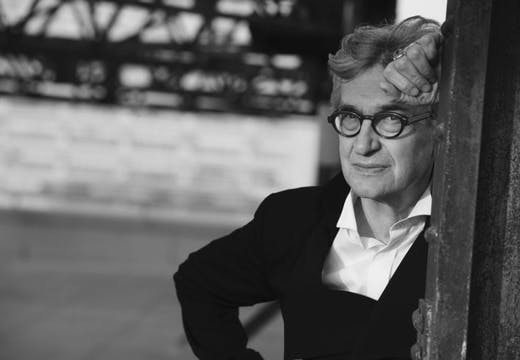 Portrait of Wim Wenders taken in 2015 by Peter Lindbergh, image courtesy Wim Wenders