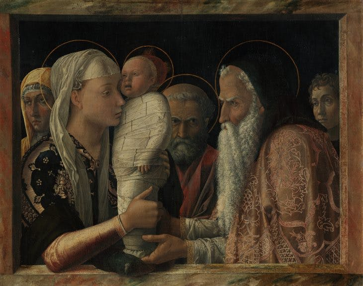 The Presentation of Christ in the Temple, Andrea Mantegna