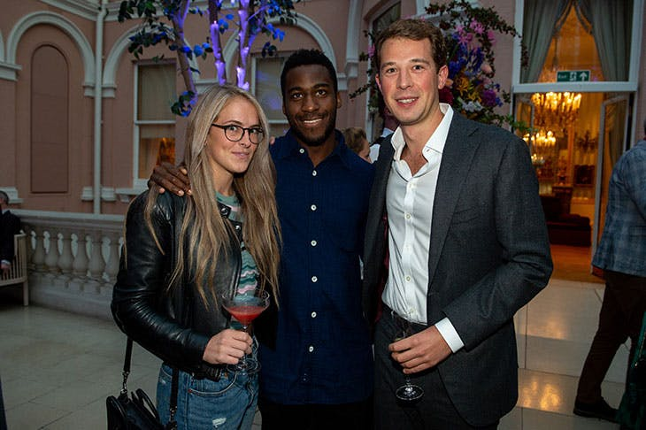 Louise Green, Theo Danjuma and Jona Lueddeckens