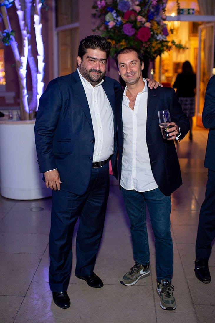 Kamiar Maleki and Nuno Centeno