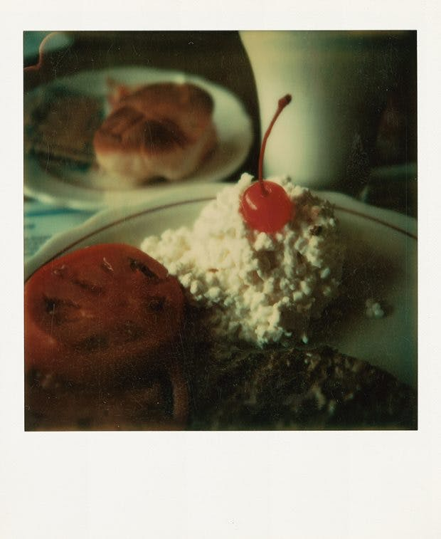 NY breakfast, Wim Wenders, 1973, courtesy the artist and Blain|Southern; © Wim Wenders