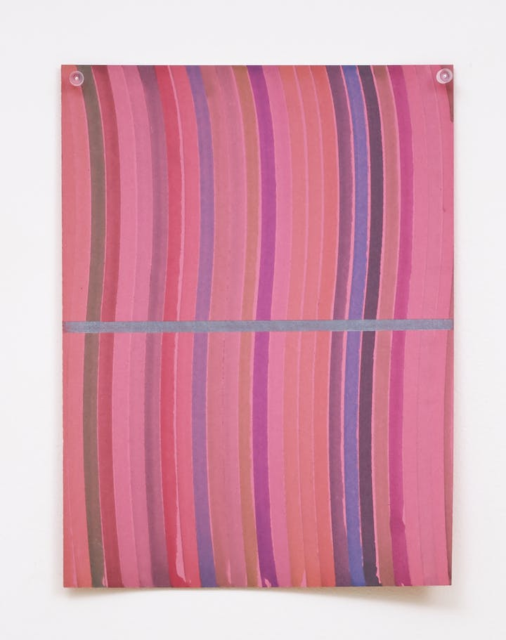 Basic Division (Wavy Gravy) (2012), Polly Apfelbaum. Courtesy the artist and Frith Street Gallery, London © Polly Apfelbaum