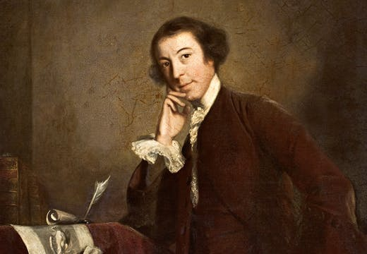 Portrait of Horace Walpole, Joshue Reynolds