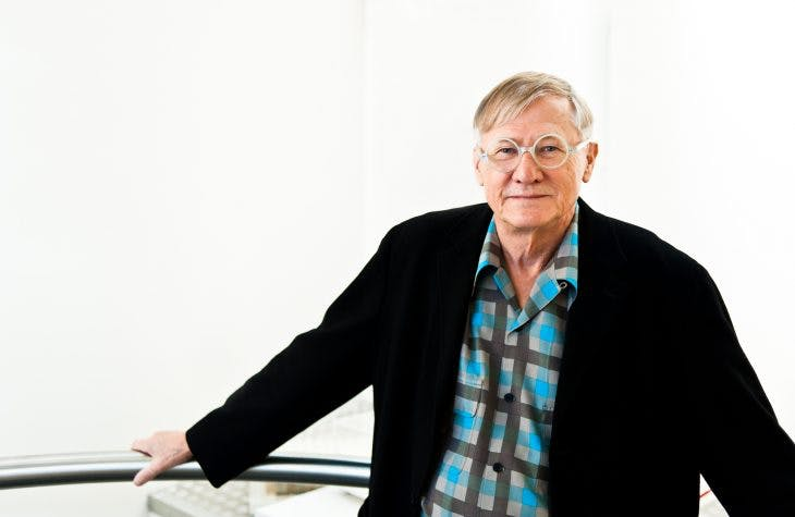 Nicholas Grimshaw, winner of the 2019 Royal Gold Medal for architecture.
