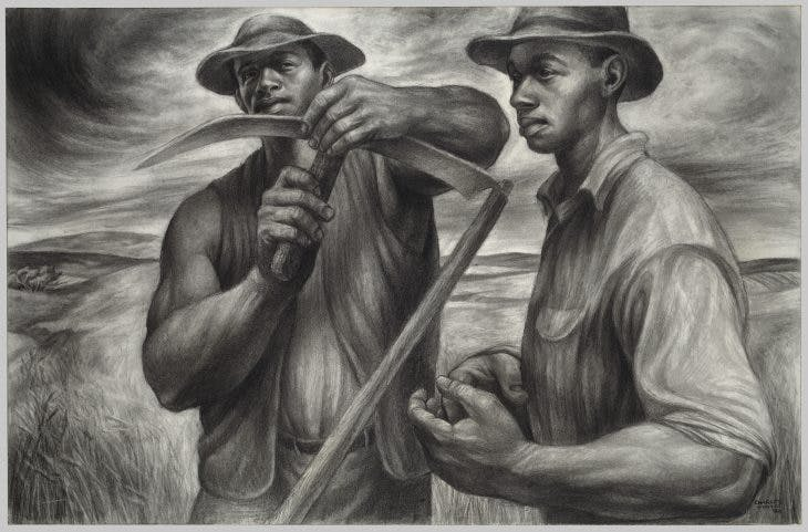 Harvest Talk, Charles White