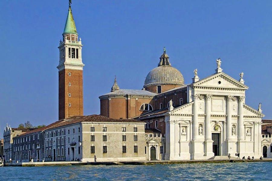 The church on San Giorgio Maggiore, the Venetian island.