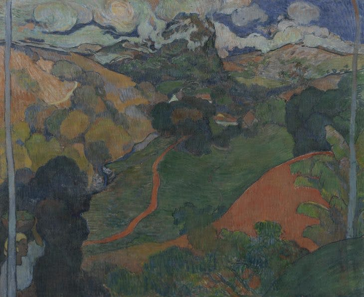Landscape on Martinique, Charles Laval