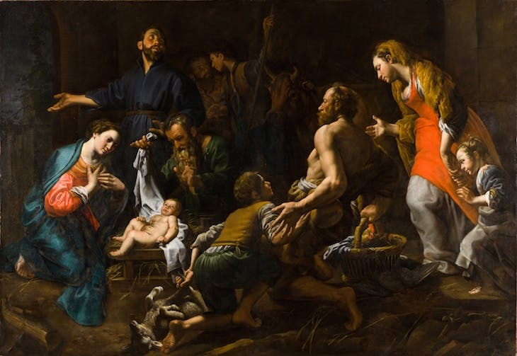 The Adoration of the Shepherds, Theodoor van Loon