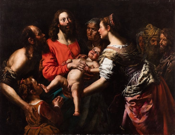 Suffer the Little Children to Come unto Me, Theodoor van Loon