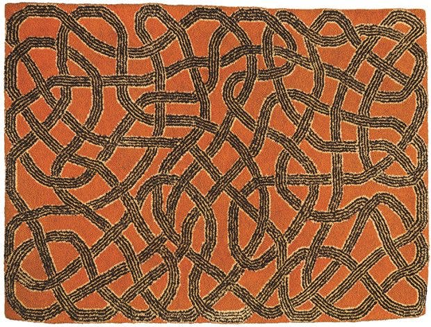 Rug, (1959), designed by Anni Albers and executed by Gloria Finn Dale. Herbert F. Johnson Museum of Art, Cornell University. © 2018 Josef and Anni Albers Foundation/Artists Rights Society (ARS), New York/DACS, London