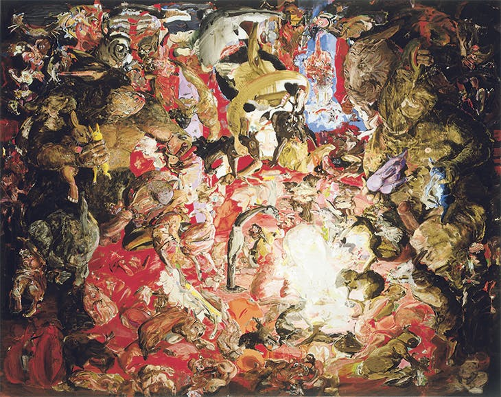 Untitled (1997), Cecily Brown.