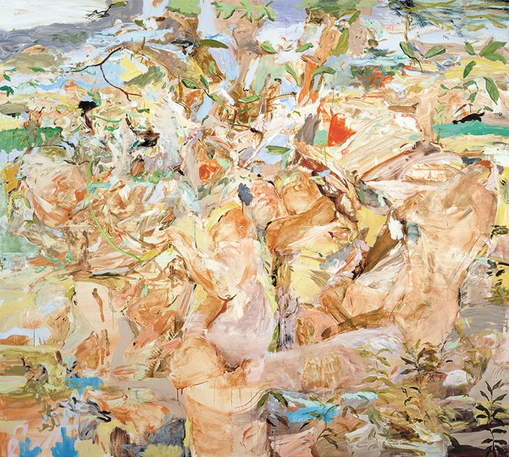 Figures in a Landscape I (2001), Cecily Brown.
