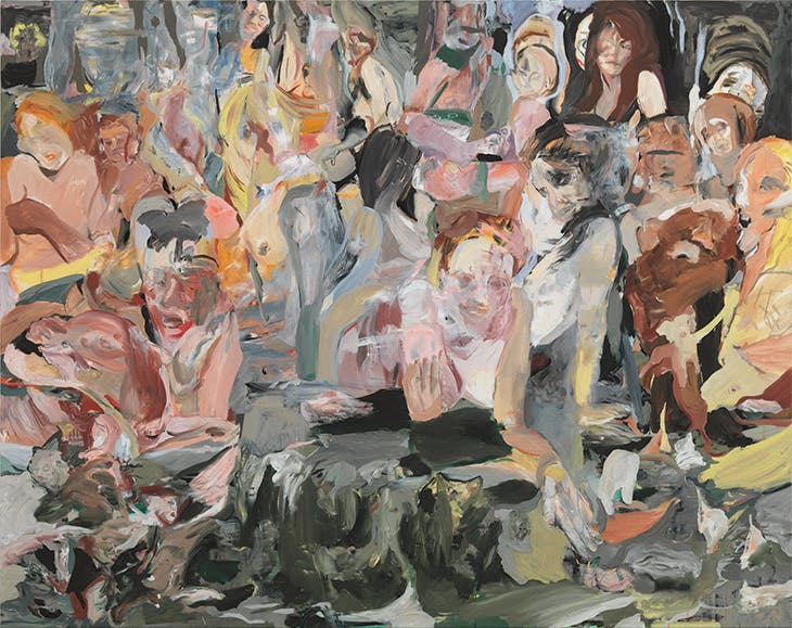 Name that Tune (2012), Cecily Brown.