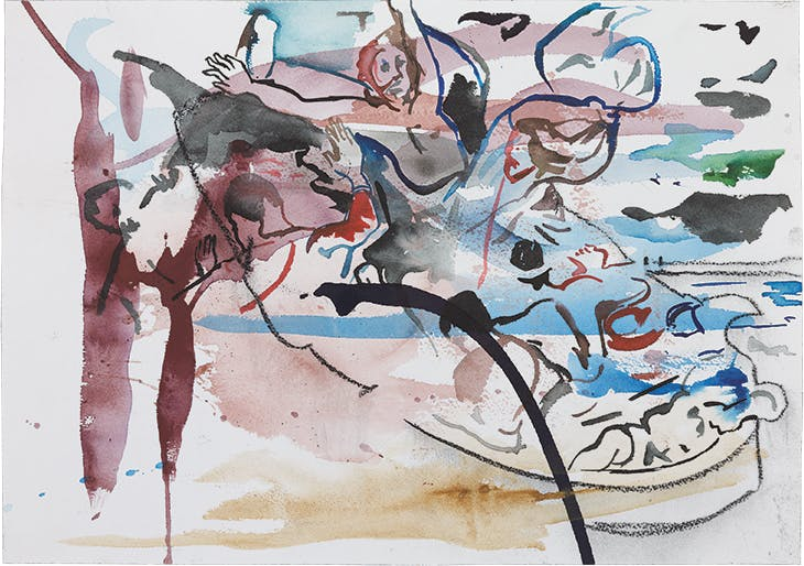 Untitled (Shipwreck) (2016), Cecily Brown.