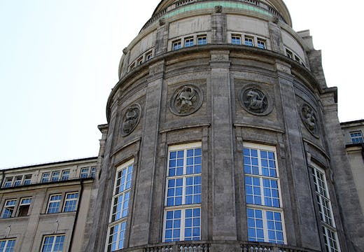 The Deutsches Museum in Munich. A fire has broken out at the museum's storage unit in the nearby town of Ingolstadt.