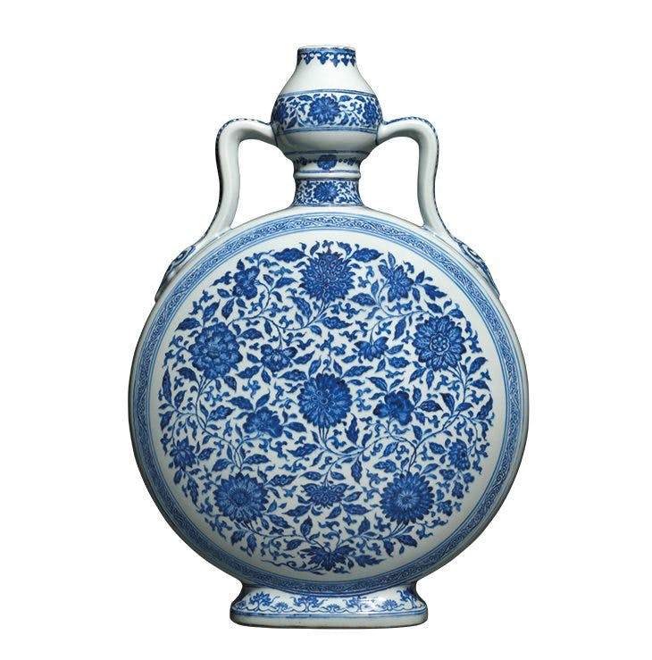 Moonflask (bianhu) (1725–35), China.