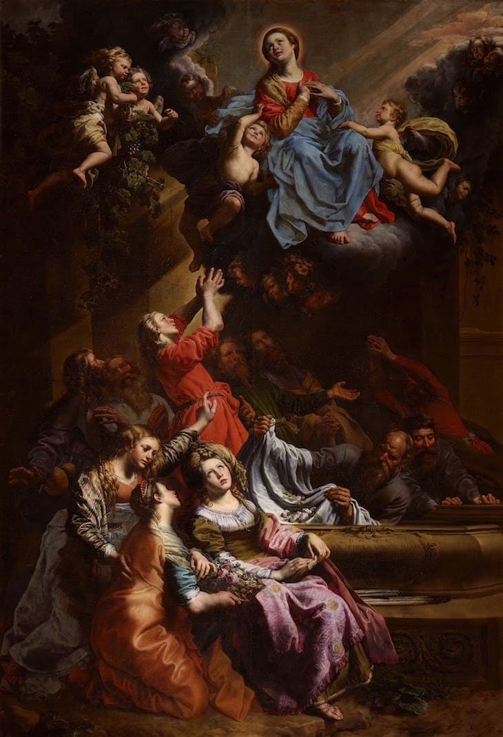 The Assumption of the Virgin Mary, Theodoor van Loon