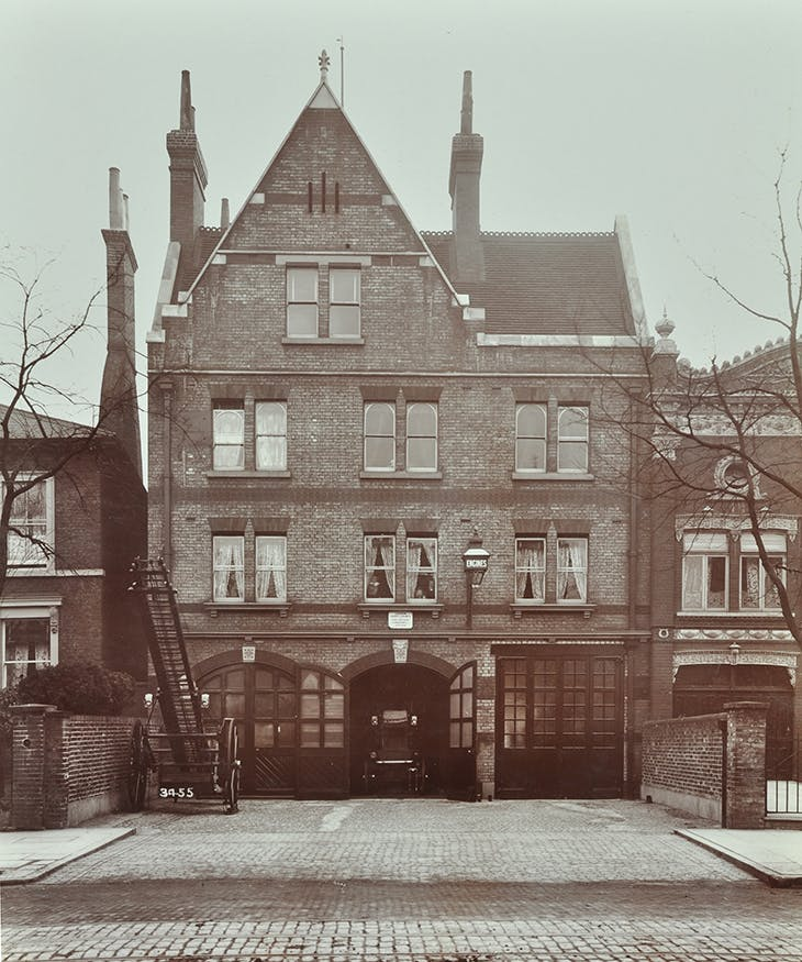 Peckham Road Fire Station, 1905.