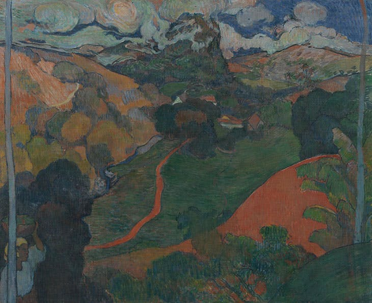 Landscape on Martinique (1887–88), Charles Laval.
