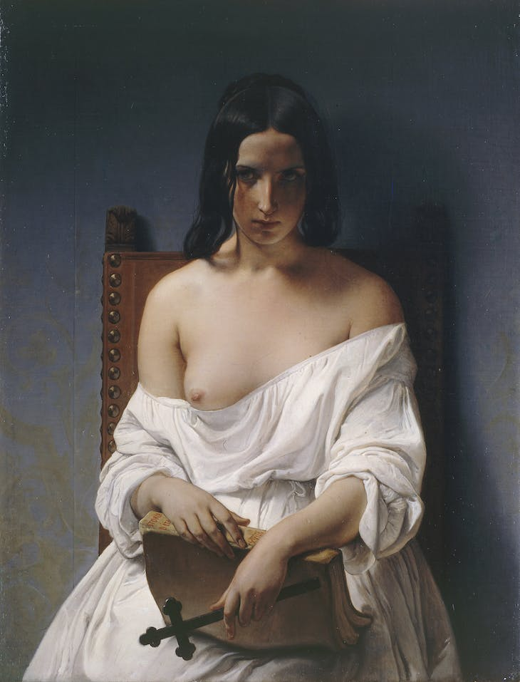 The Meditation, Francesco Hayez