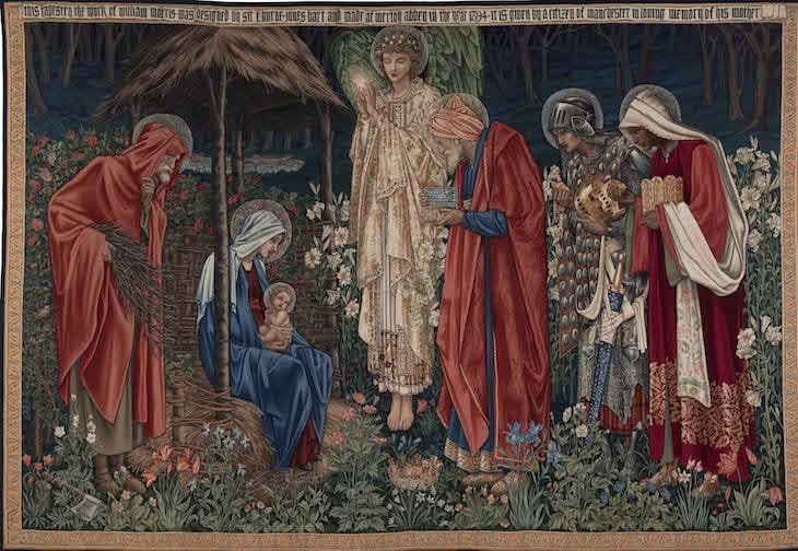 Adoration of the Magi, Edward Burne-Jones