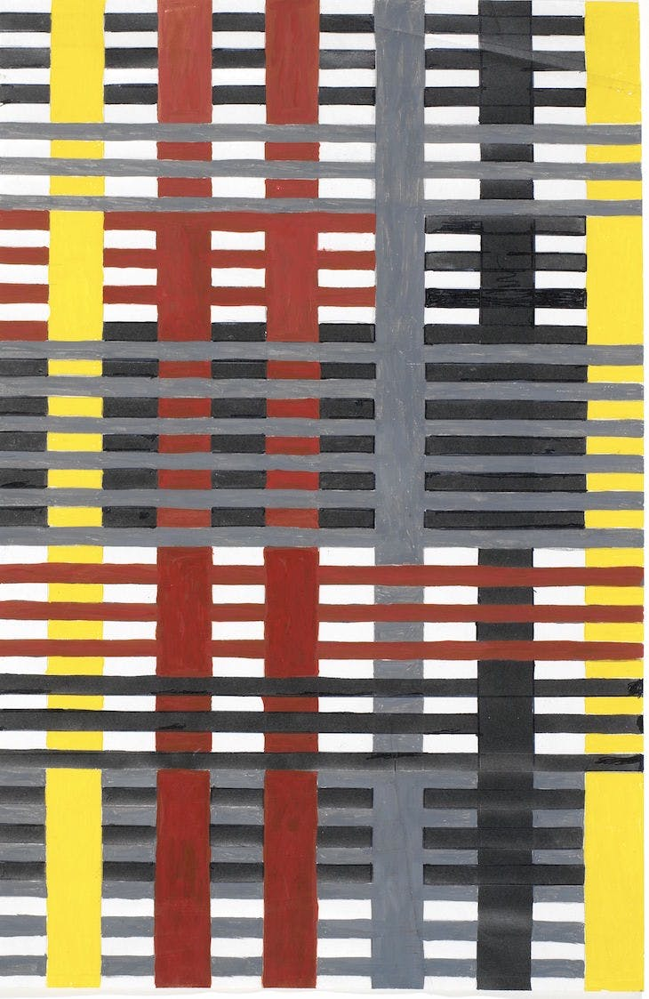 Study for an Unexecuted Wallhanging, Annie Albers