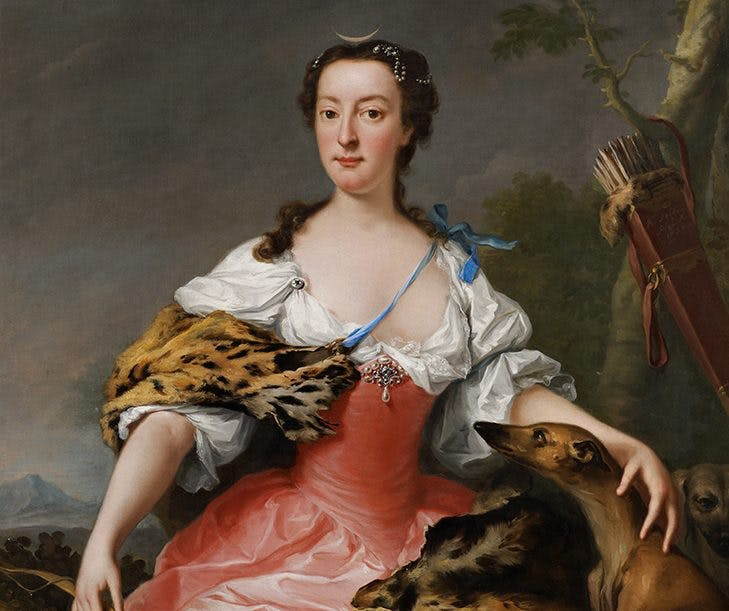 Isabella, Duchess of Manchester, 1738, Andrea Soldi, Whitfield Fine Art