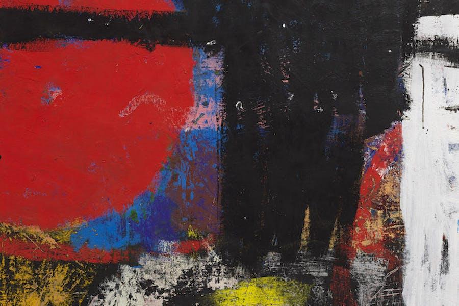 Black Peter (detail), Joe Bradley