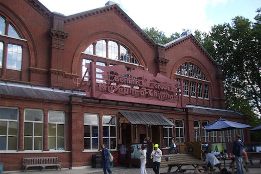 The Museum of Childhood in Bethnal Green in 2005.