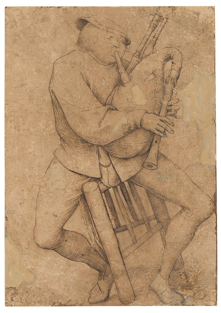 The Bagipe Player, Pieter Bruegel the Elder