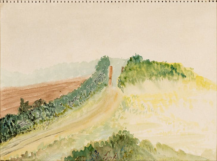 May 23, 1935 (Pathway through Fields) (1935), Grace Pailthorpe.