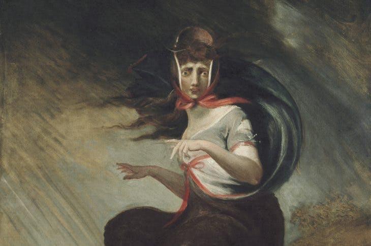 Mad Kate (detail; 1806/07), Henry Fuseli.
