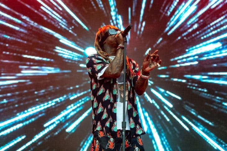 Lil Wayne performs during the 2018 Austin City Limits Music Festival at Zilker Park on October 13, 2018 in Austin, Texas, Photo: © SUZANNE CORDEIRO/AFP/Getty Images