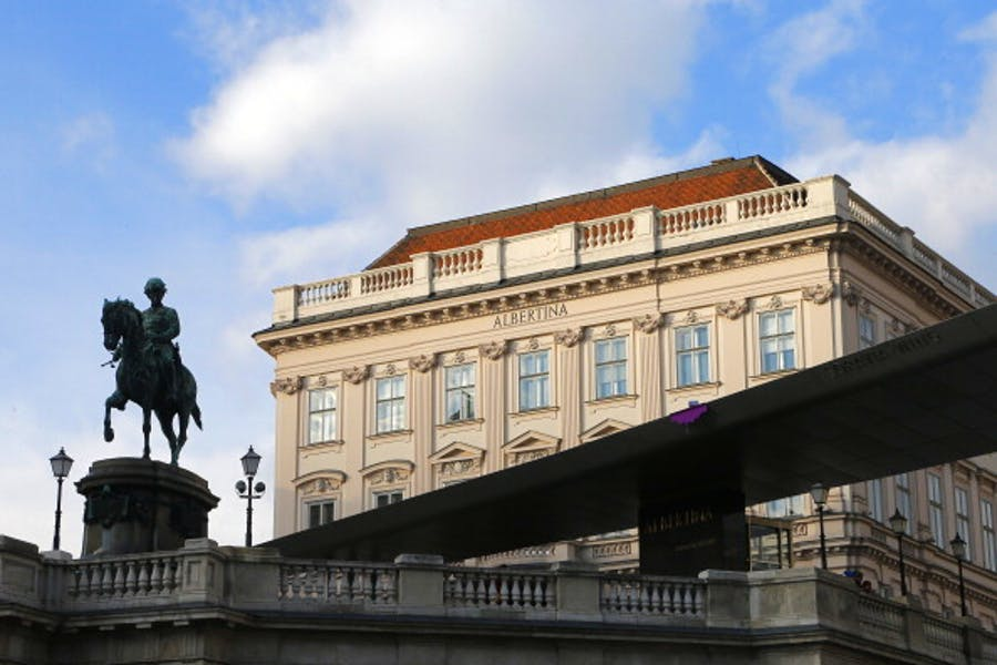 The Albertina Museum, Vienna.