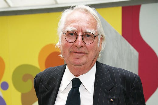 Richard Meier in New York in 2008.